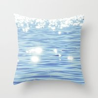 sparkles Throw Pillows featuring Sparkles by Shy Photog