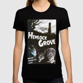 Hemlock Grove Vintage Poster T-shirt