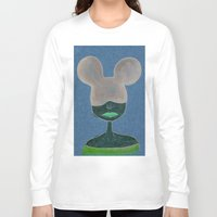 minnie Long Sleeve T-shirts featuring Minnie by WickedNifty