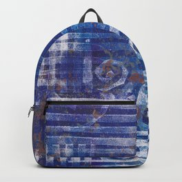 Abstract Monoprint 170315484 Backpack