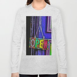 Psychedelic Open Sign Long Sleeve T-shirt