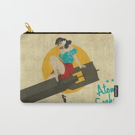 Atomic Seahorse Carry-All Pouch