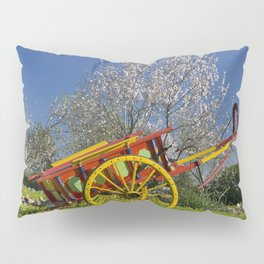 Algarve rustic cart, Portugal Pillow Sham
