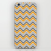 chevron iPhone & iPod Skins featuring Chevron by eARTh