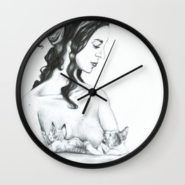 Blessings of Bast Wall Clock