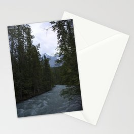 robson river Stationery Cards