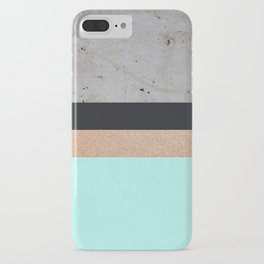 Abstract Turquoise Pattern iPhone Case