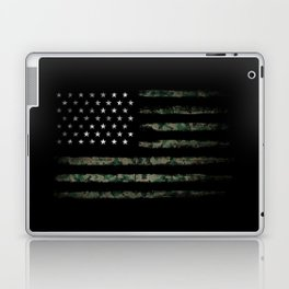 Khaki american flag Laptop & iPad Skin