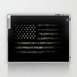 Khaki american flag Laptop & iPad Skin