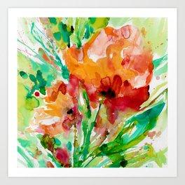 Blooming Joy No.1a by Kathy Morton Stanion Art Print