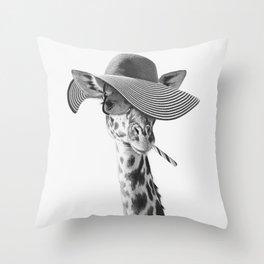 SAFIRA ZHIRAFETTA Throw Pillow