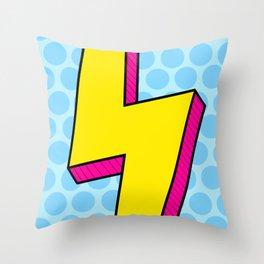 Lightning Pop Throw Pillow