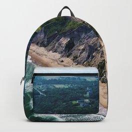 Hidden Beaches of Block Island, Rhode Island - New England's Hidden Gem Backpack