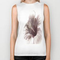 hibiscus Biker Tanks featuring Hibiscus by Lynn Bolt