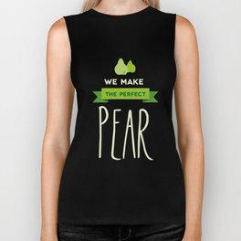 The perfect pear Biker Tank