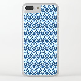 """""""Seigaiha"""" Japanese traditional pattern Clear iPhone Case"""