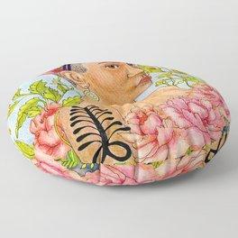 Portrait of Queen Calafia Floor Pillow