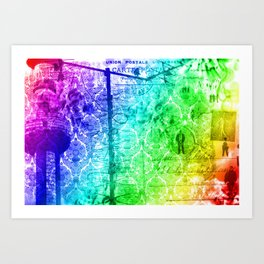 Colorful Chaos Art Print