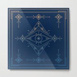 Wild Eye - Astral Metal Print