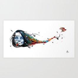 Flying Dream Art Print