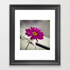 searching for the sun Framed Art Print