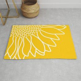 Sunflower Cheerfulness Rug