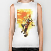 kingdom hearts Biker Tanks featuring Kingdom Hearts 2 by Johsvie