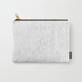 White rain | Rain art | Rain Decor | Rain Design | Modern art | Office art | Fine Art Carry-All Pouch
