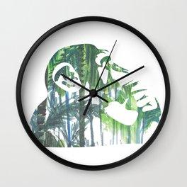 Banksy Chimps Wall Clock