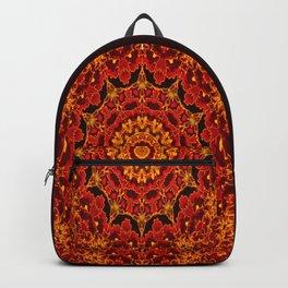 Flaming flowers Backpack