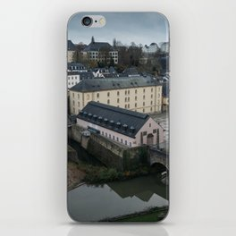 Autumn in Luxembourg iPhone Skin