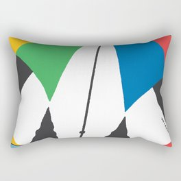 Kite—Sky Blue Rectangular Pillow