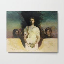 Abbott H. Thayer - My Children Metal Print