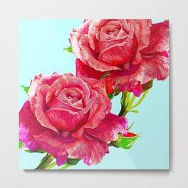 Red rose #society6 Metal Print