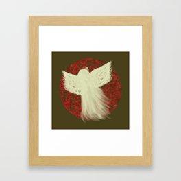 Holiday Angel Framed Art Print