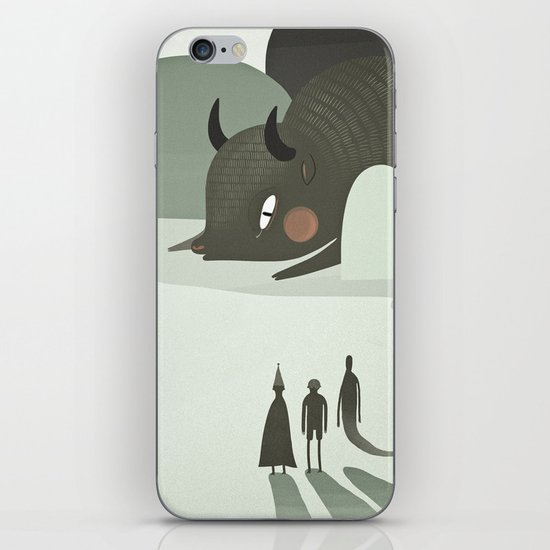 so they went to where the buffalos roamed. iPhone & iPod Skin