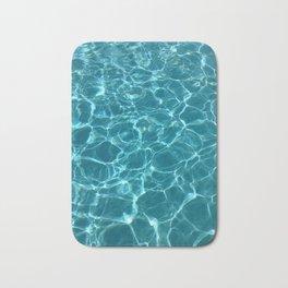 Blue water Badematte
