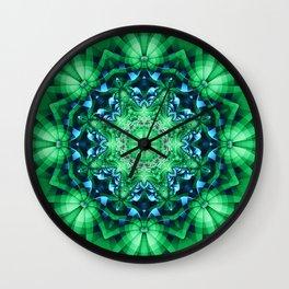 Patterns in a Kaleidoscope Wall Clock