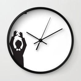 I Only Came For The Dancing Wall Clock