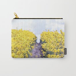Walk Through the Yellow Carry-All Pouch
