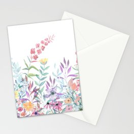 Sweet Spring Meadow Stationery Cards