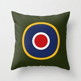 RAF Type C.1 Roundel Throw Pillow
