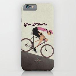 Giro D'Italia Cycling Race Italian Grand Tour iPhone Case