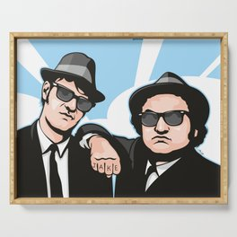 The Blues Brothers Serving Tray