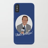 scully iPhone & iPod Cases featuring Vin Scully by Eric J. Lugo