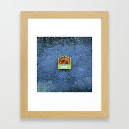 Ringbouy Framed Art Print