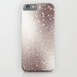 Beautiful Elegant Champagne Glitter iPhone Case