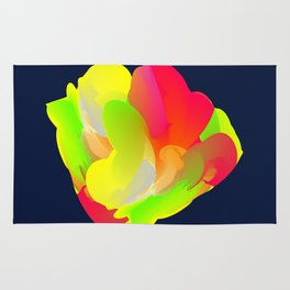 Abstract flower Rug