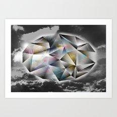 Polygon Heaven Art Print