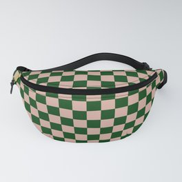 Forest Check Fanny Pack